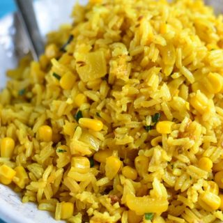 Sweet Corn Pilau Rice