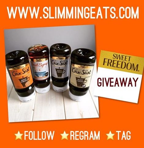 Slimming Eats Sweet Freedom Choc Shot Giveaway - ends 16th June 2016 8pm GMT (Open to UK residents only)