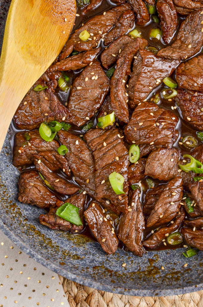 Slimming Eats Beef Teriyaki - gluten free, dairy free, paleo, Slimming World and Weight Watchers friendly