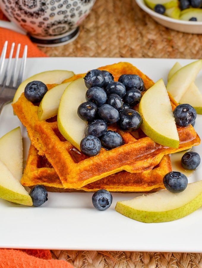 Syn Free Pumpkin Waffles