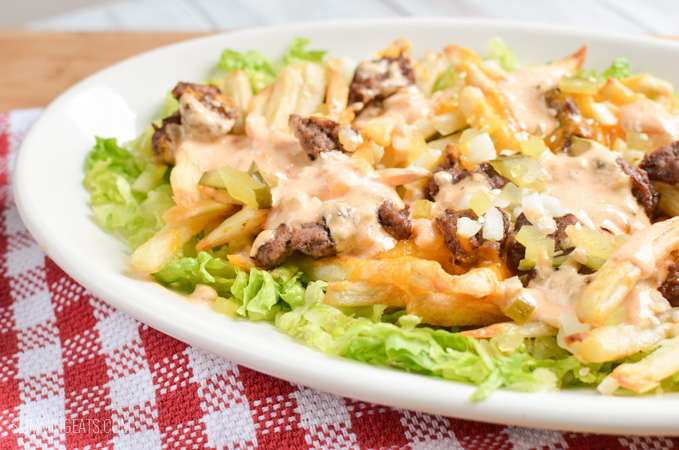 Slimming Eats Big Mac Fries - gluten free, Slimming World and Weight Watchers friendly