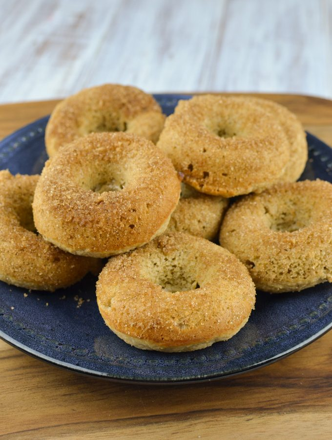 Slimming Eats Baked Banana Doughnuts - gluten free, vegetarian, Slimming World and Weight Watchers friendly
