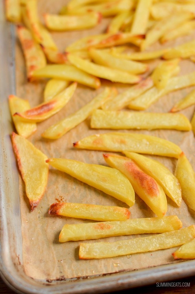 Stay on plan with my method for the PERFECT Syn Free Chip Shop Chips you can make at home   gluten free, dairy free, vegan, Slimming World and Weight Watchers friendly
