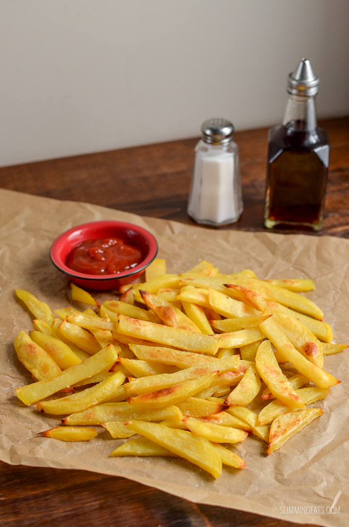 Stay on plan with my method for the PERFECT Syn Free Chip Shop Chips you can make at home | gluten free, dairy free, vegan, Slimming World and Weight Watchers friendly