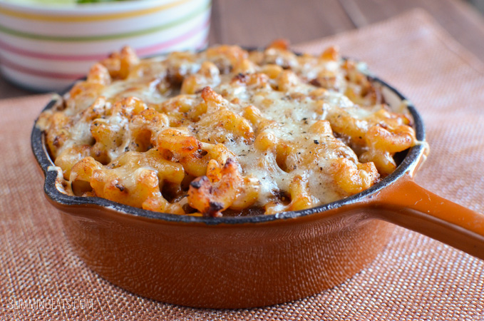 Slimming Eats Low Syn Pasta Bake - gluten free, Slimming World and Weight Watchers friendly