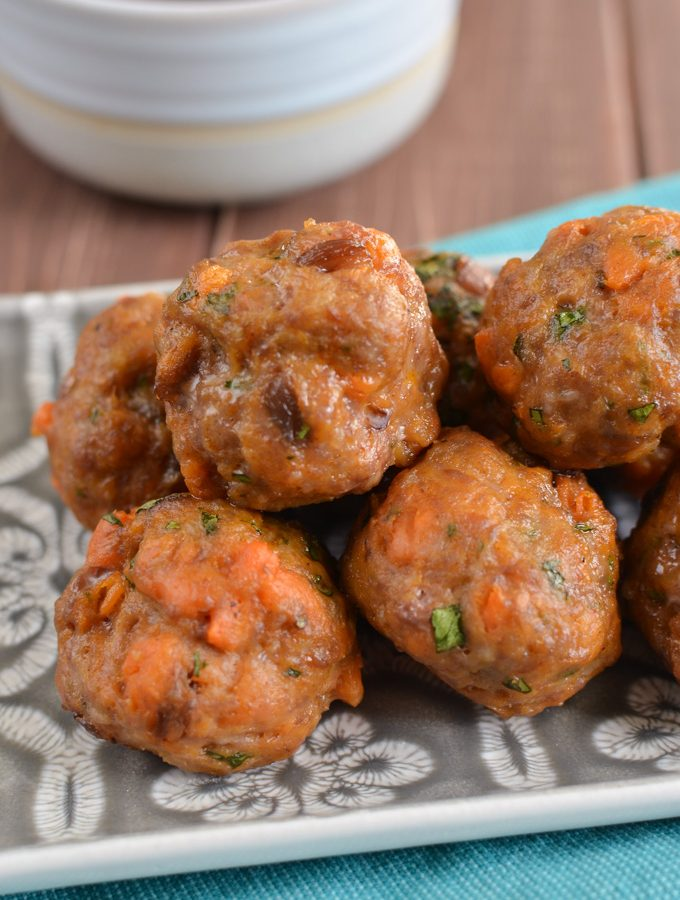Syn Free Pork and Sweet Potato Meatballs