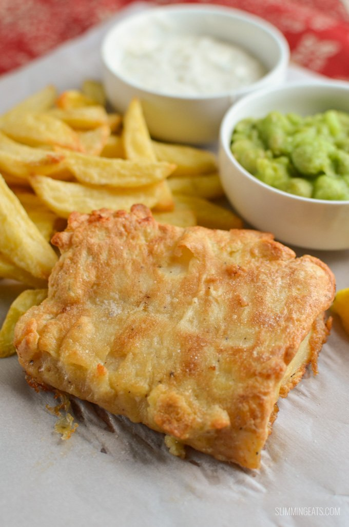 Best Ever Low Syn Fish And Chips Slimming World Recipes