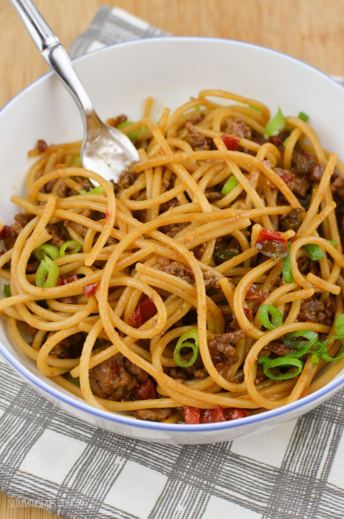 Chinese Fakeaway - Slimming World recipes - Slimming Eats