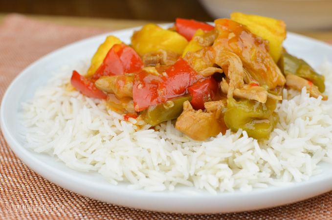 Slimming Eats Instant Pot Sweet and Sour Chicken - gluten free, dairy free, Slimming World and Weight Watchers friendly