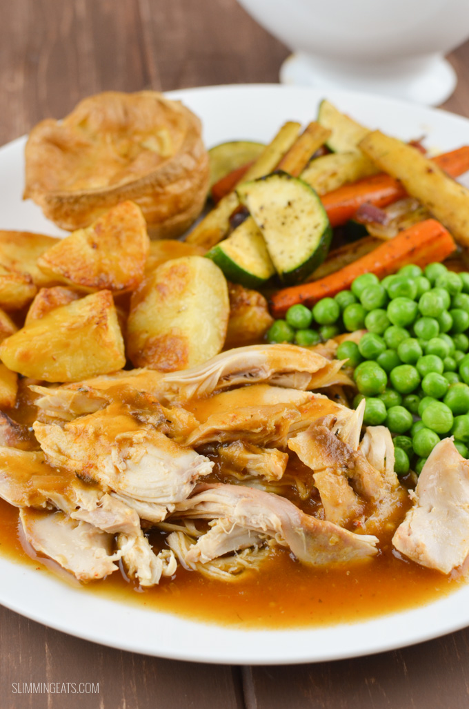 Slimming Eats Sunday Dinner - Slimming World and Weight Watchers friendly