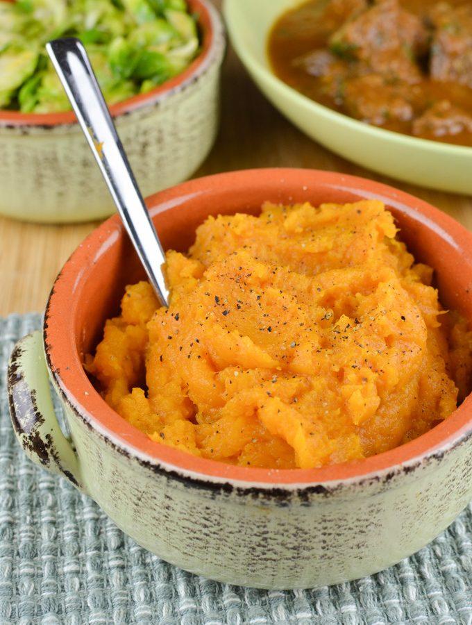 Syn Free Sweet Potato Mash