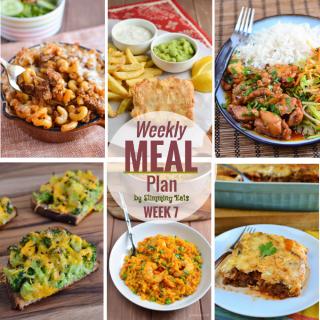 Slimming Eats Weekly Meal Plan – Week 7