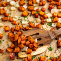 Roasted Butternut Squash with Paprika