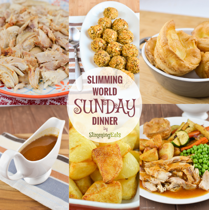 Slimming eats sunday dinner slimming world recipes Slimming world meal ideas