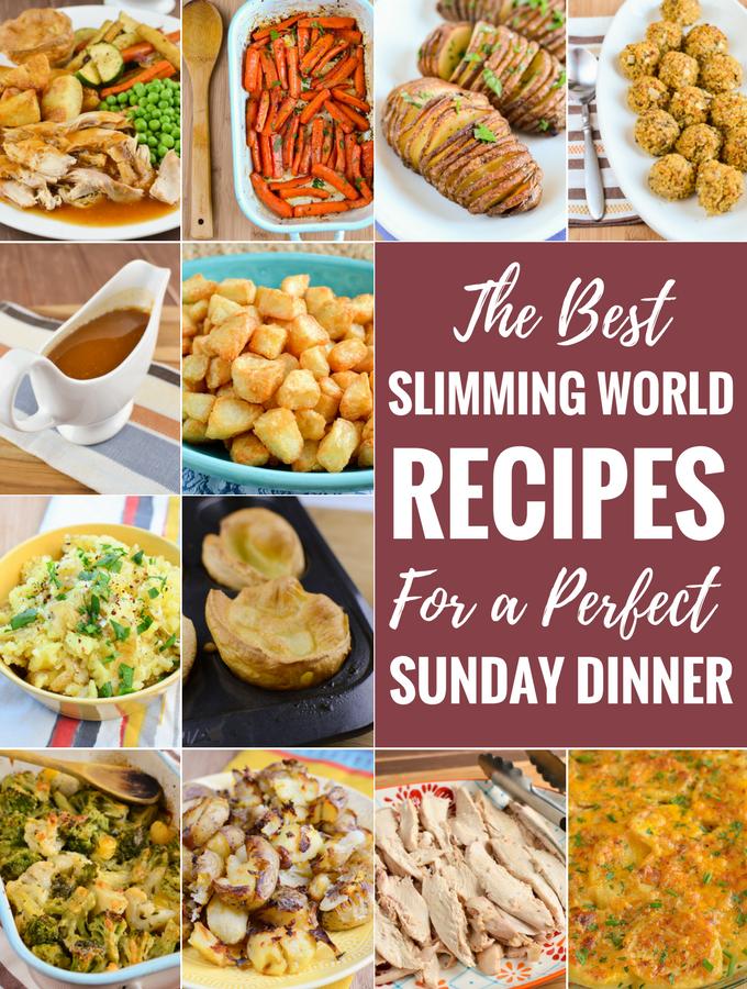 Slimming Eats Sunday Dinner Slimming World Recipes