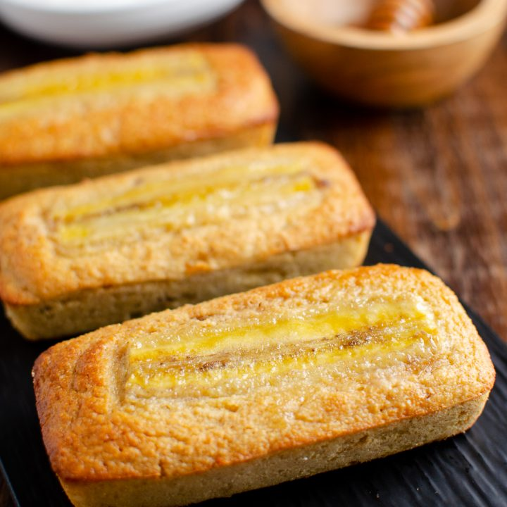 Low Syn Mini Banana Raisin Loaf