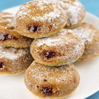 Baked Gluten Free Jam Doughnuts