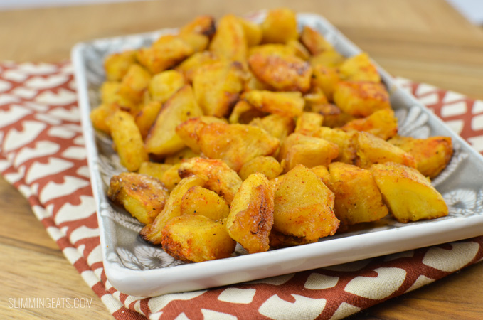Slimming Eats Baked Sweet Plantain - gluten free, dairy free, vegetarian, paleo, whole30, Slimming World and Weight Watchers friendly