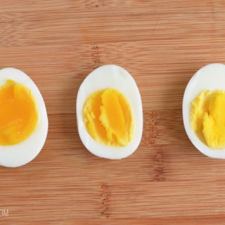 Soft, Medium, Hard Instant Pot Boiled Eggs