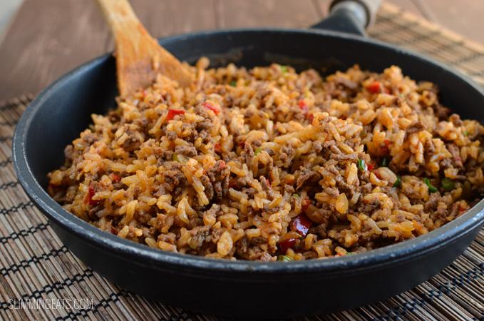 Nasi Goreng - gluten free, dairy free, Slimming World and Weight Watchers friendly