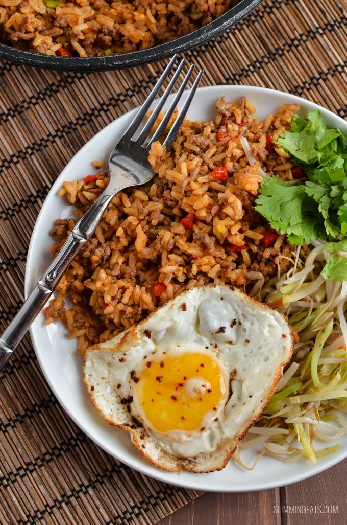 Low Syn Nasi Goreng - Indonesian Rice | Slimming World recipes