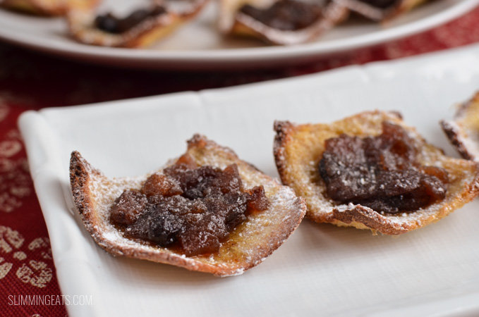 Slimming Eats Low Syn Mince Pies - dairy free, vegetarian, Slimming World and Weight Watchers friendly