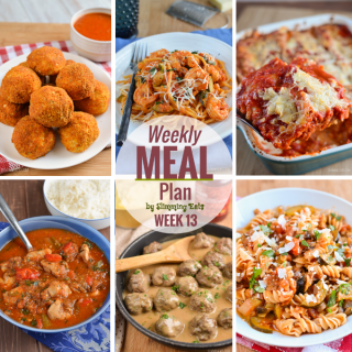 Slimming Eats Weekly Meal Plan – Week 13