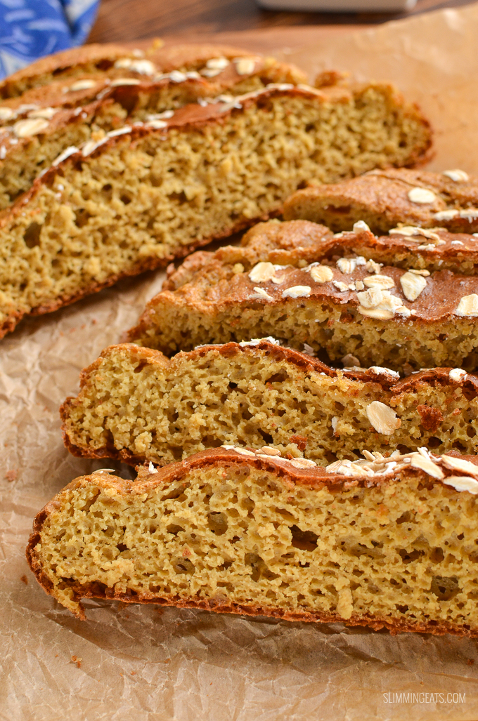 Healthy Extra Gluten Free Soda Bread - the perfect side for all your favourite soups, stews and casseroles.| gluten free, vegetarian, Slimming World and Weight Watchers friendly
