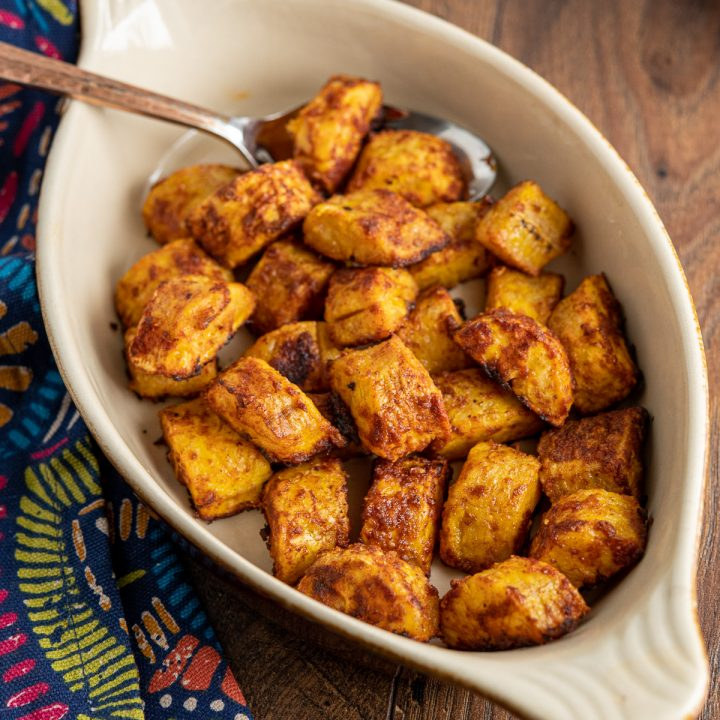Baked Sweet Plantain