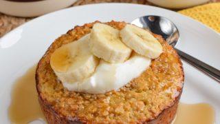 Banana Baked Oats