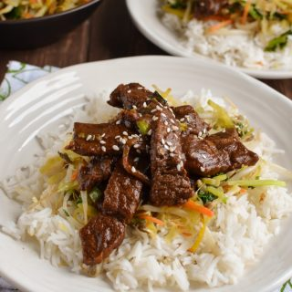 Low Syn Korean Style Beef (bulgogi)