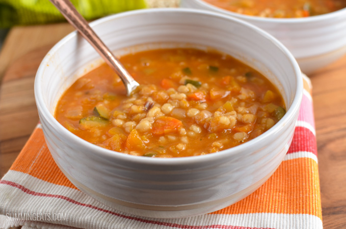 Vegetable and Pearl Barley Soup (Stove Top, Instant Pot)