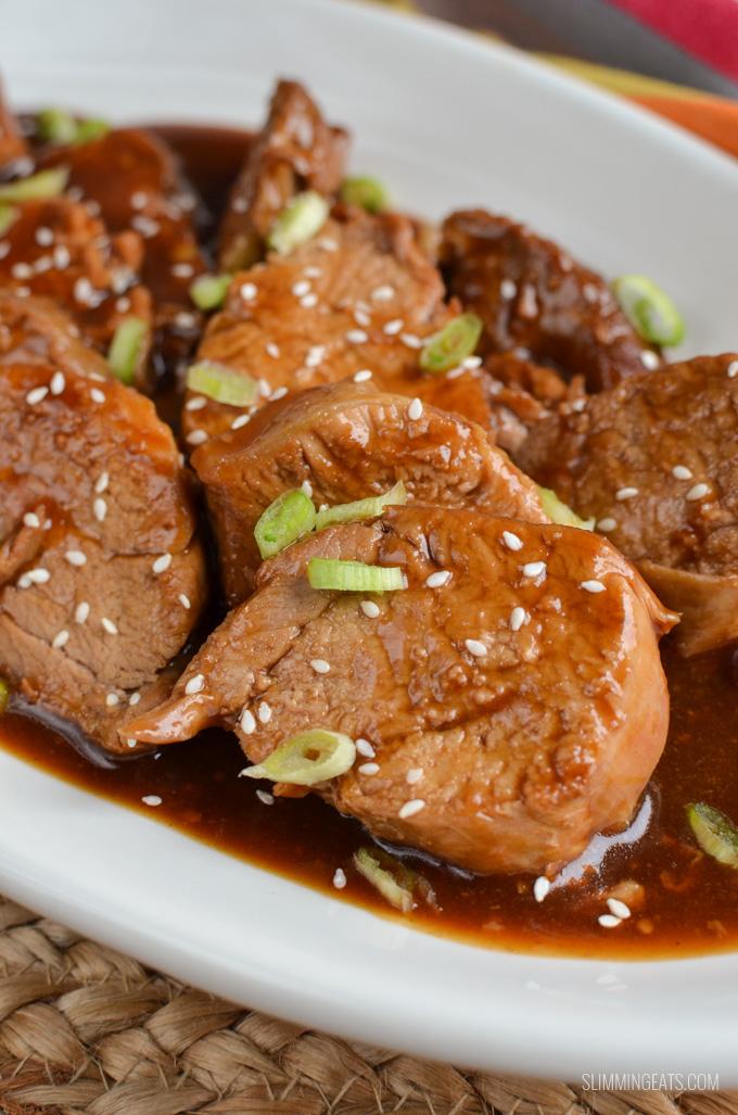 Instant Pot Teriyaki Pork Tenderloin Slimming World Recipes