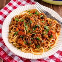 Slimming World Best Ever Bolognese Meat Sauce (Instant Pot)