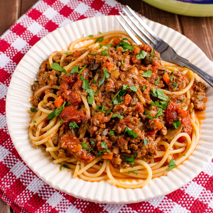 Slimming World Best Ever Bolognese Meat Sauce (Instant Pot)