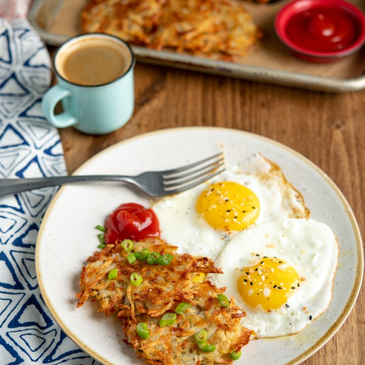 Syn Free Crispy Golden Hash Browns