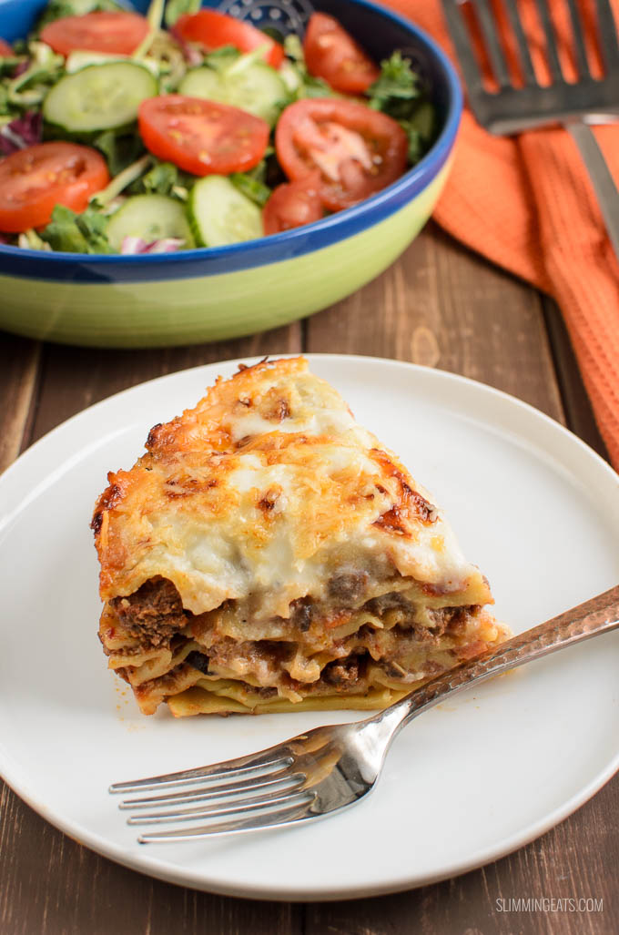 Slimming Eats Low Syn Lasagne Pie (Instant Pot) - Slimming World and Weight Watchers friendly