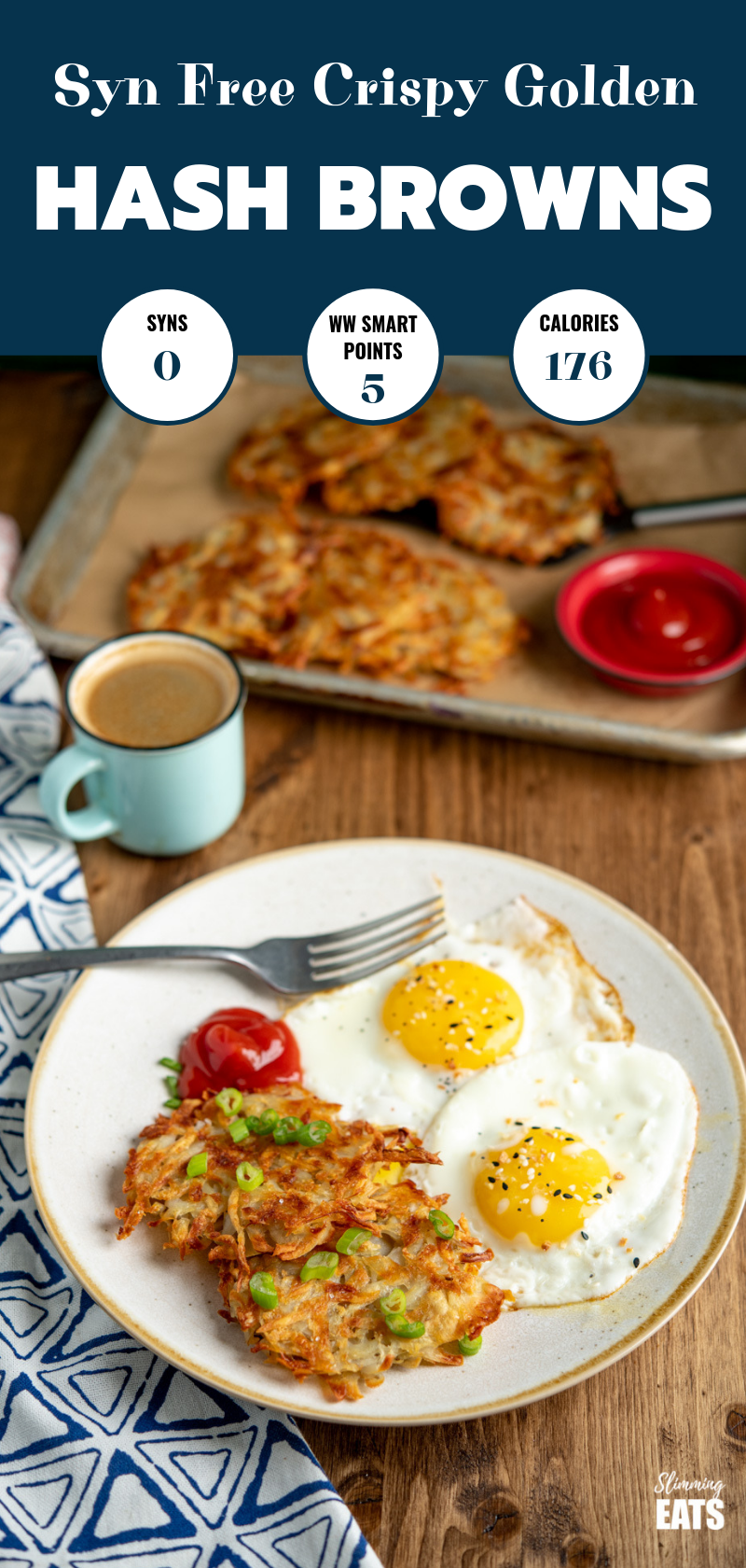 Syn Free hash brown pin image