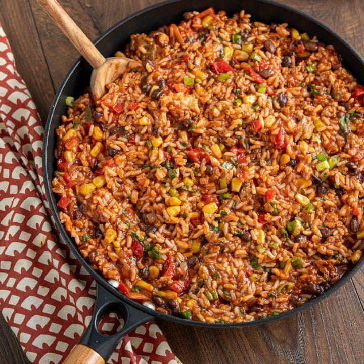 Turkey Rice Burrito Bowls