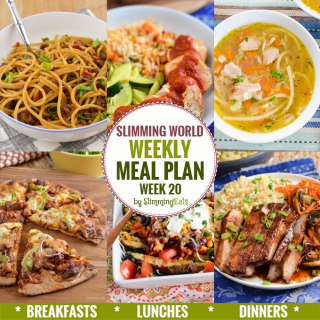 Slimming Eats Weekly Meal Plan – Week 20