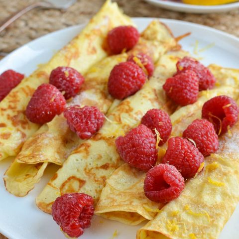 Low Syn Crepe Style Pancakes