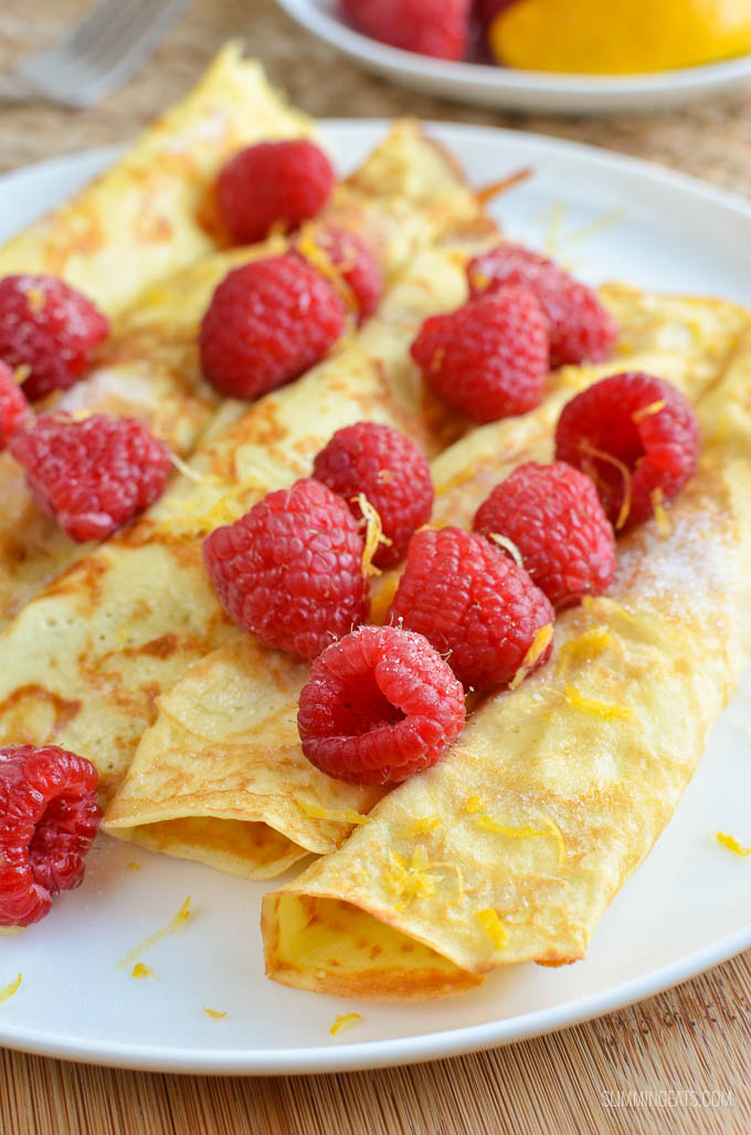 Low Syn Crepe Style Pancakes - vegetarian, Slimming World and Weight Watchers friendly