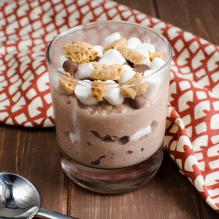 Low Syn S'mores Overnight Oats