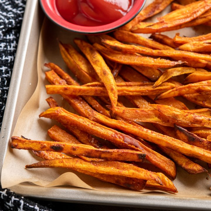 Perfect Oven Baked Sweet Potato Fries
