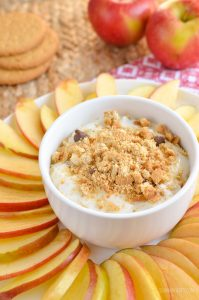 Low Syn Cheesecake Dip with Apple Nachos | Slimming Eats ...