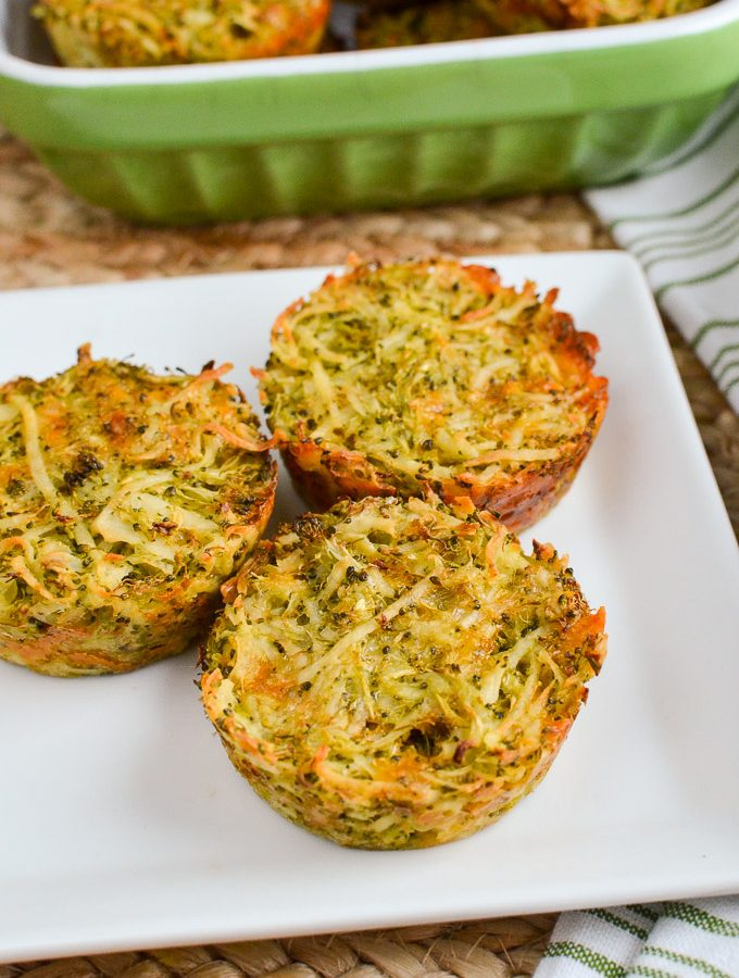 Syn Free Broccoli Cheddar Hash Brown Muffins