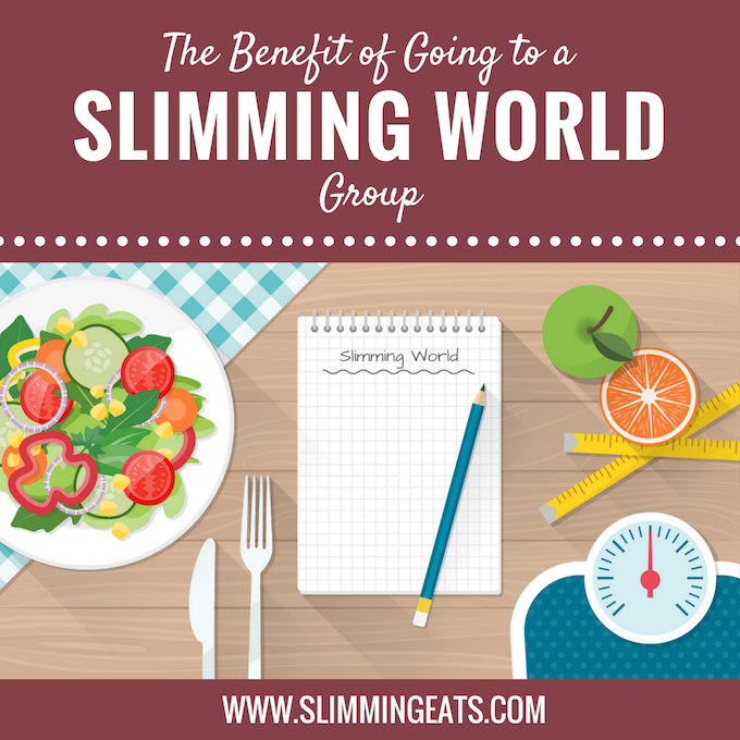 Slimming Eats - The benefit of going to Slimming World Classes