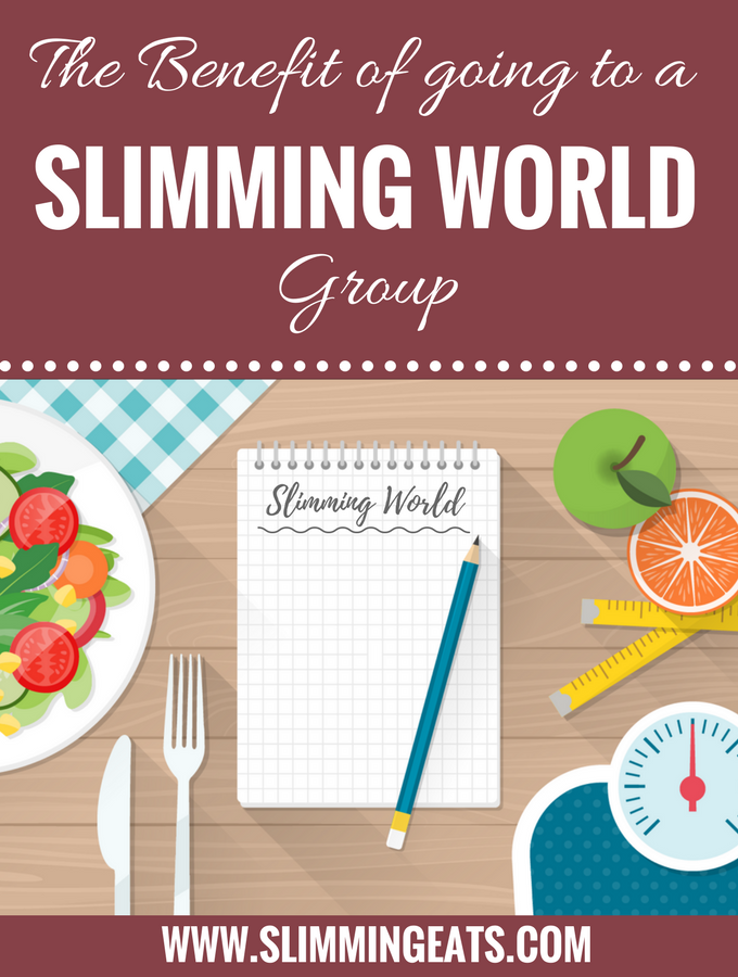 The benefit of going to a Slimming World Group - Slimming Eats