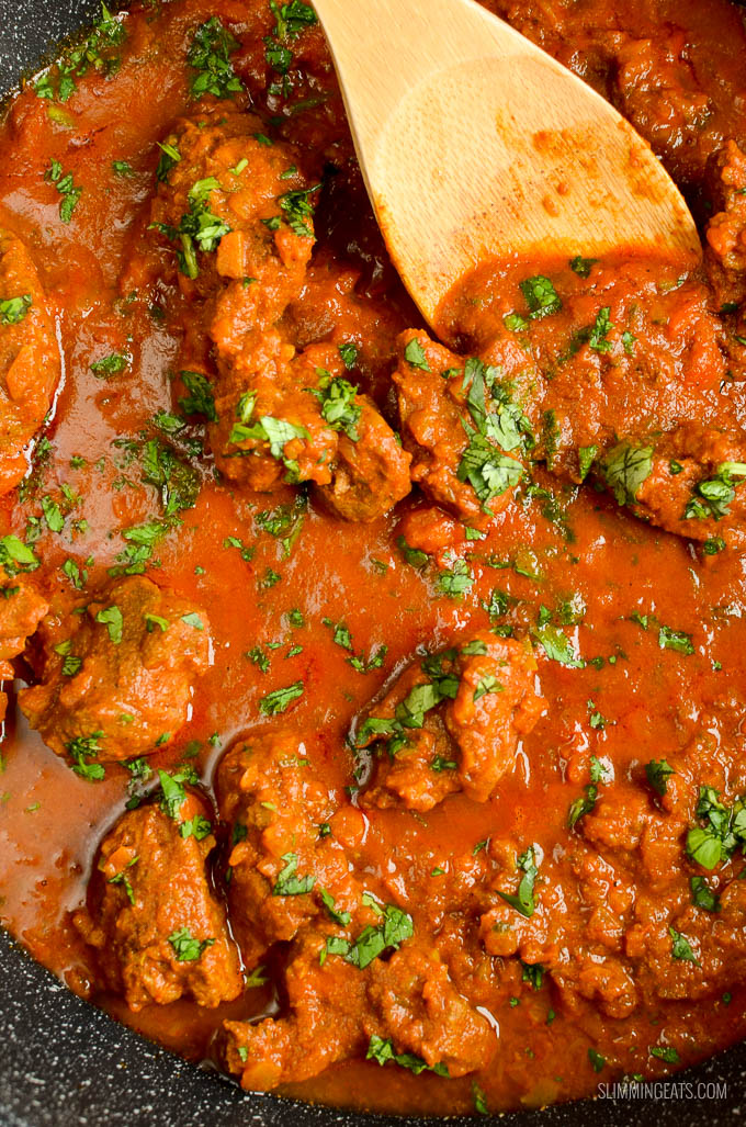 Slimming Eats Low Syn Instant Pot Bombay Lamb Curry - gluten free, dairy free, paleo, Slimming World and Weight Watchers friendly