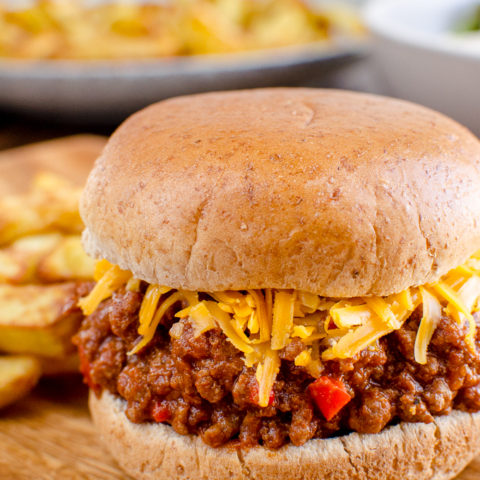 Syn Free Sloppy Joes - Stove Top and Instant Pot